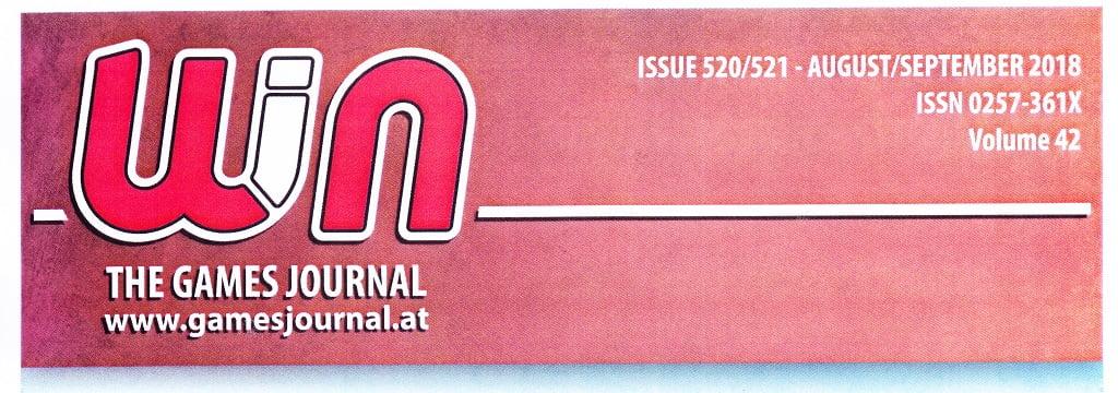 BigCream: WIN – THE GAME JOURNAL n° 520-521