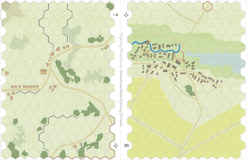 Alte due mappe del gioco base