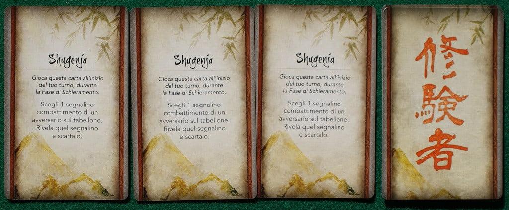 "Le carte ""Shugenja"