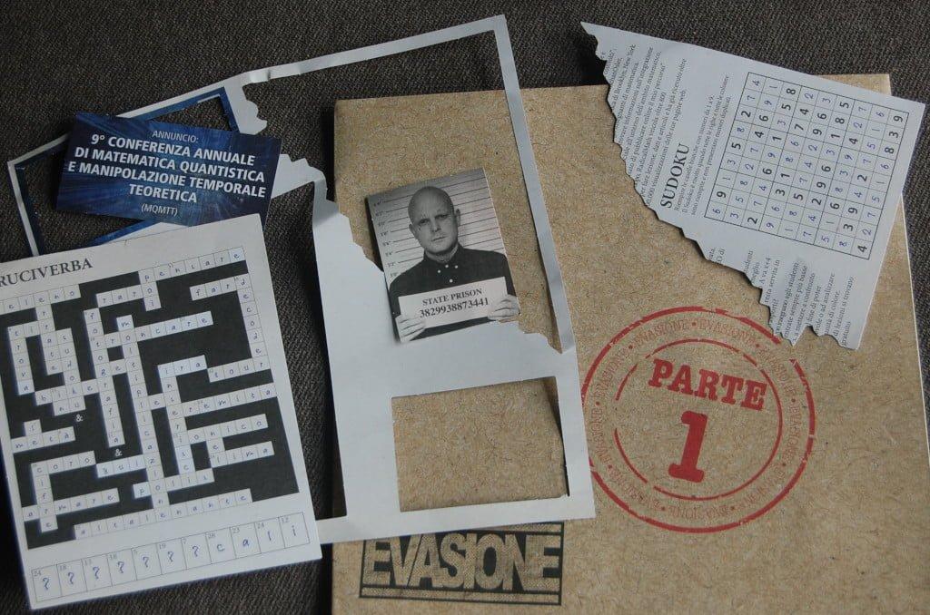 Materiale della Escape Room