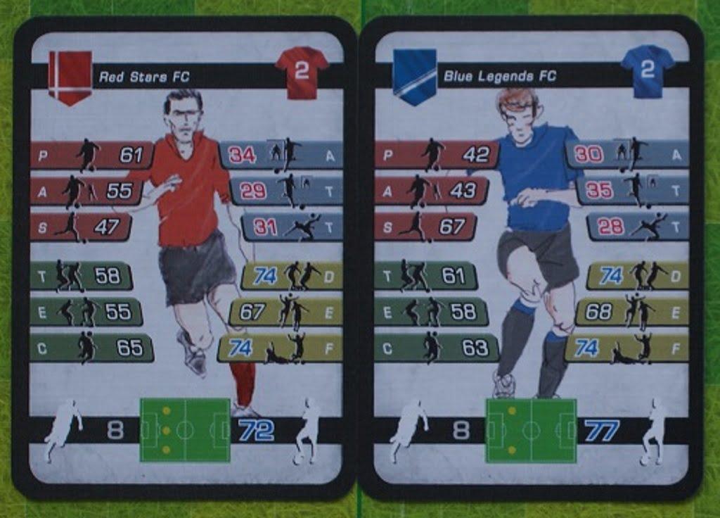 Un esempio di carte dei giocatori