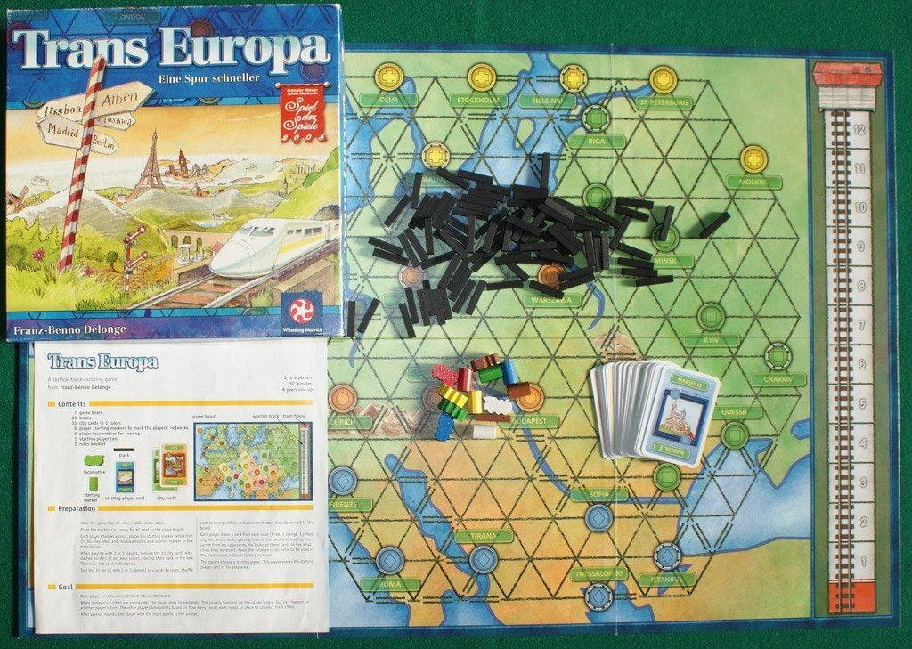 I componenti originali di Trans Europa