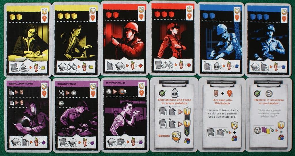 """Un esempio di carte """"obiettivo"""""""