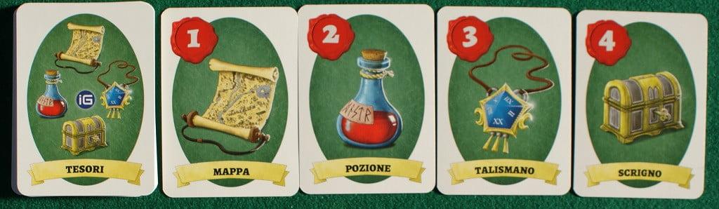 "Le carte ""tesoro"""