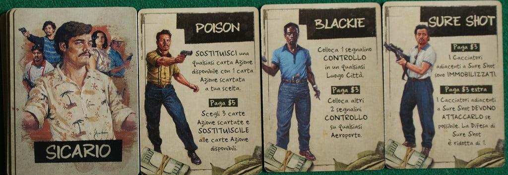 Alcune carte Sicario