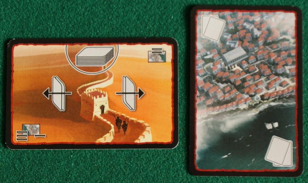 Le carte per il gioco a due