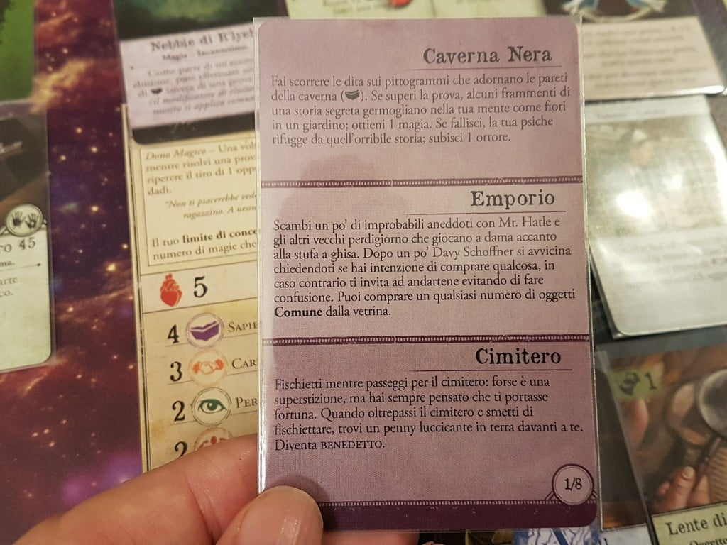Carta incontro di Arkham Horror