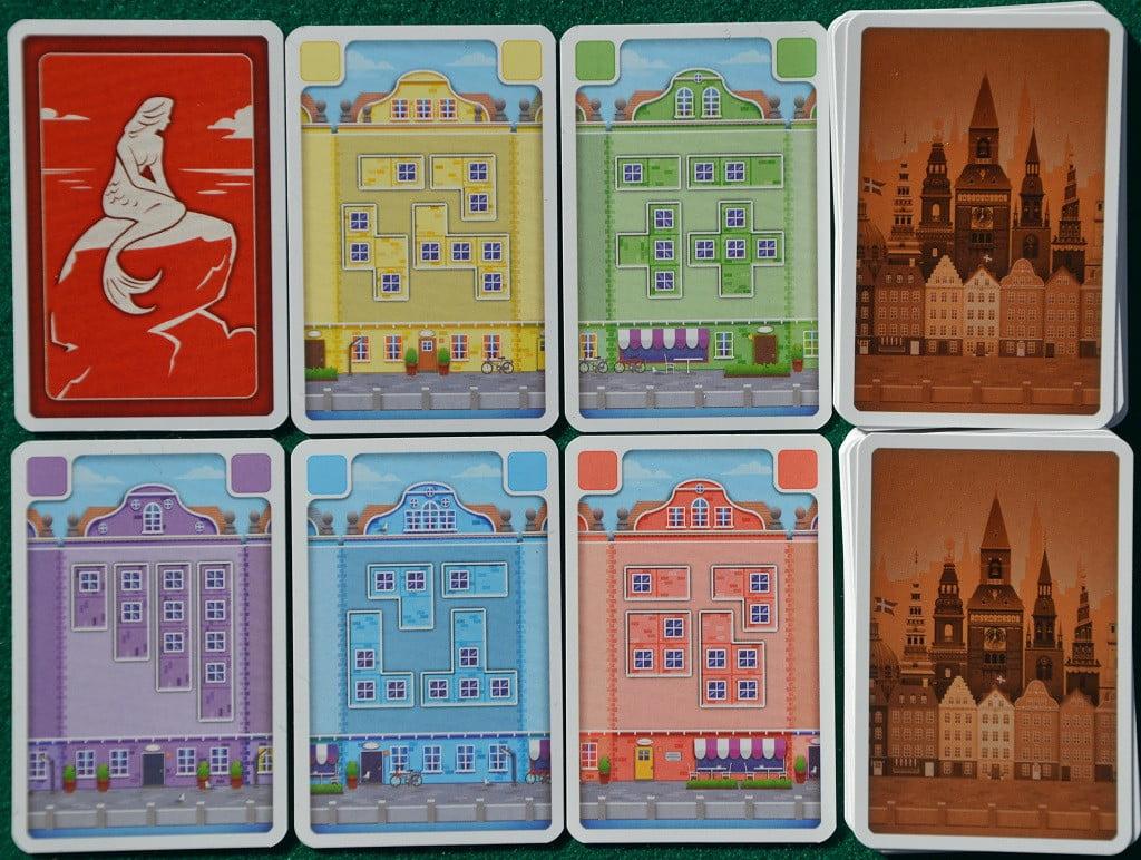 Alcune delle carte