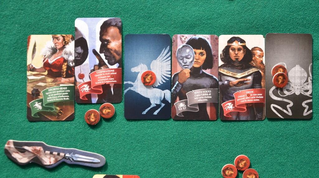 Esempio di risoluzione degli effetti delle carte