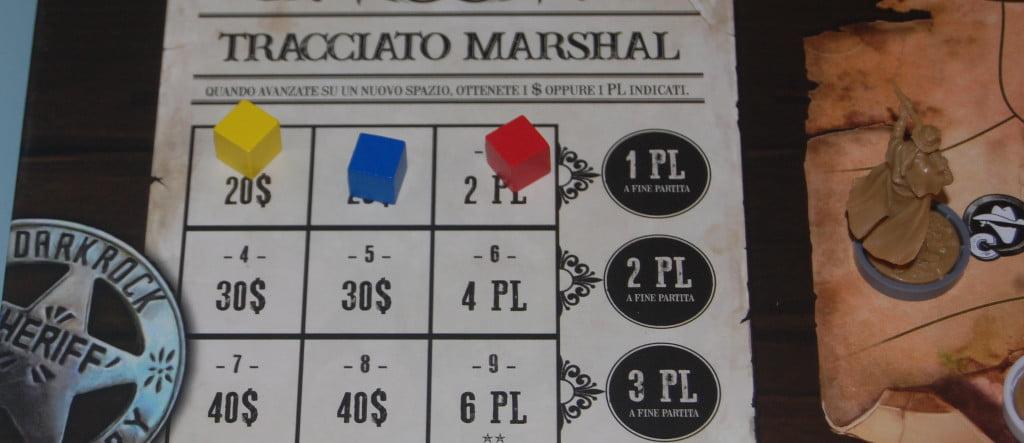 Il tracciato Marshal