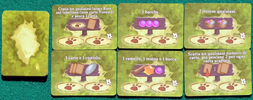 "Alcune carte ""Foresta"""