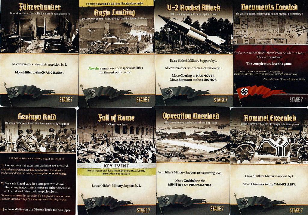 Alcune carte dello stage 7