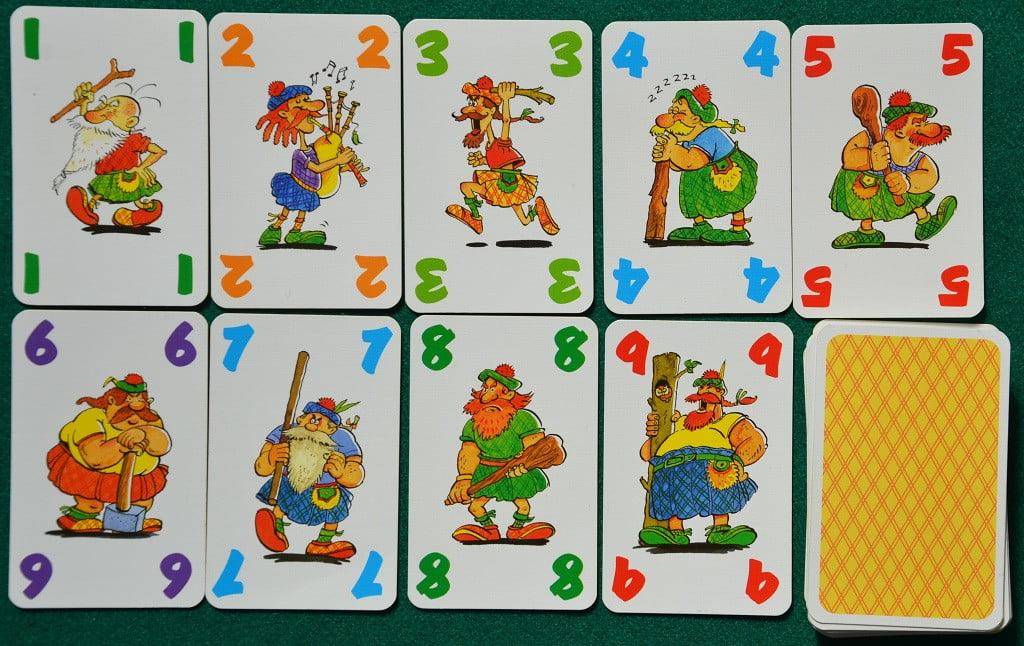 "Le carte ""Scozzesi"" di Shotten Totten"