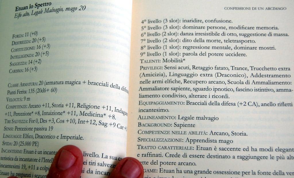 un dettaglio del libro