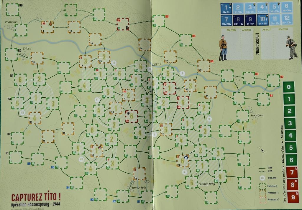 Mappa di Capturez Tito.