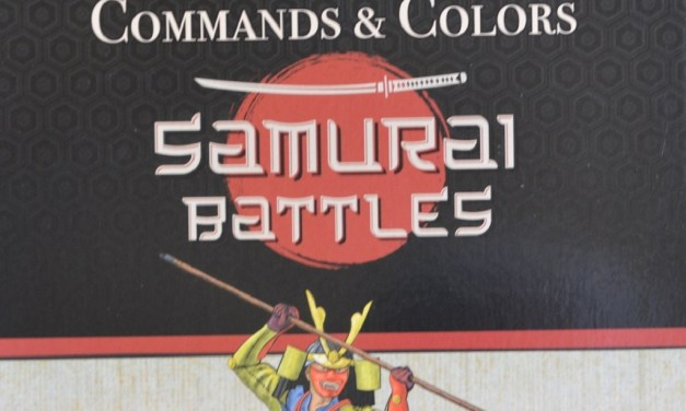 Prime impressioni: Commands & Colors Samurai Battles