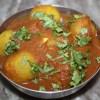 Dum Tinda in Tomatensoße - Ganze indische Babykürbisse in Tomaten - 11 Jul 15