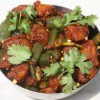 Aloo Bhindi in Tomato - Recipe for Potatoes and Okra with delicious Tomatoes - 12 Sep 15