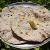 Indo-German Chapati - Recipe for Indian Bread with Rye, Spelt and Oat Flour - 19 Sep 15