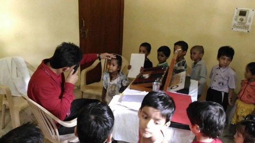 Free Eye Checkup for the Children of our School – 31 Aug 16