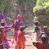Holi - Farben-Schlacht mit den Kindern - 7 Mär 09