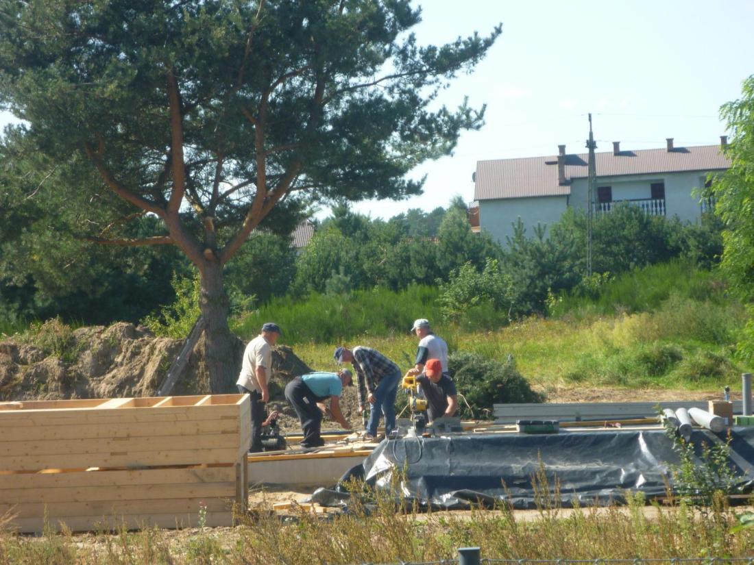 budujemy nowe domki w Balfali