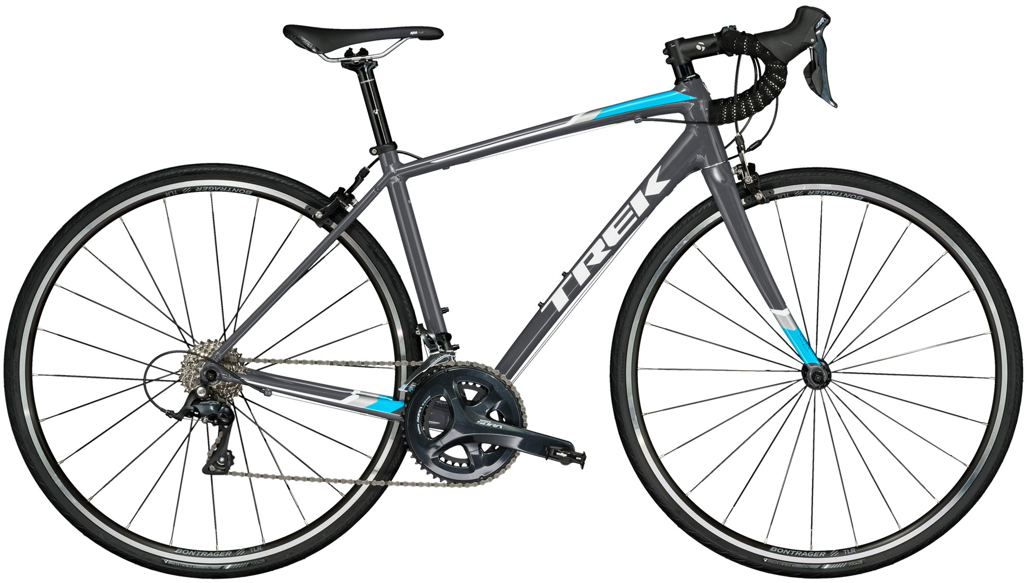 Trek Domane Al 3 2018 WSD Ladies Road Bike in Charcoal