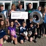 Fiona Dennis, SCAA; Colin Mendham, Balfron 10k; Neil Macquarrie, Balfron High School; Ann Rubython, Balfron Primary School