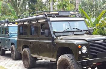Bali Car Carter With Driver - Land Rover