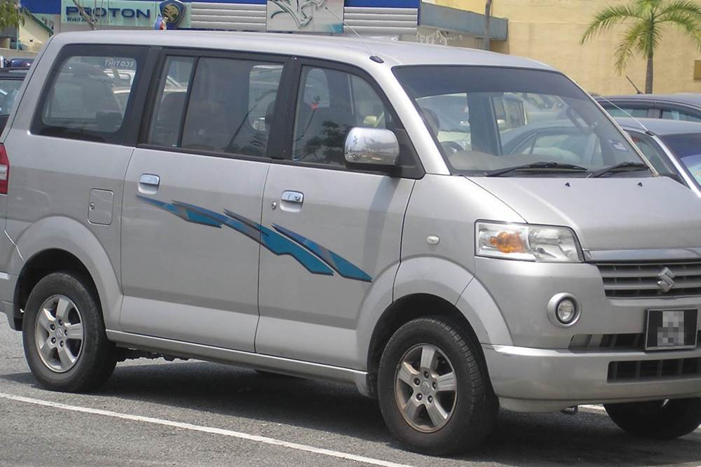 Bali Car Charter With Driver - Suzuki APV -Gallery 02260217