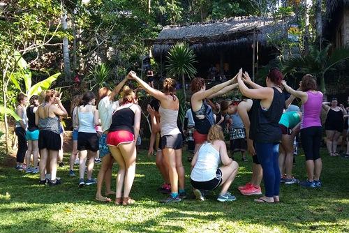 Bali Students Team Building Activities Ubud Camp 250117