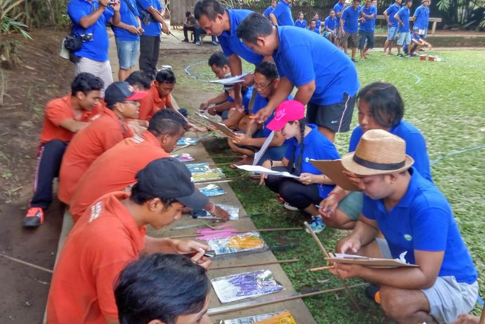 Bali Corporate Team Building Activities Penglipuran Camp