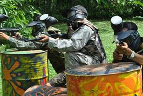Bali Taro Paintball Adventure Tour - Link to Page - 050317
