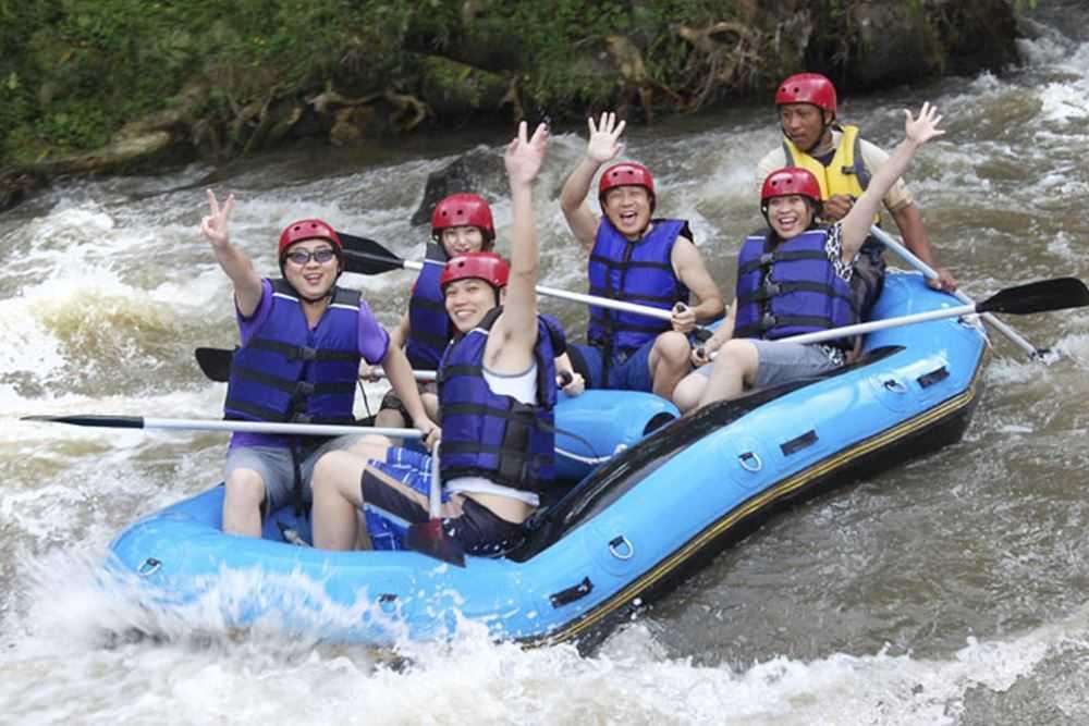 Bali White Water Rafting Tours Ayung River - Gallery 08010218