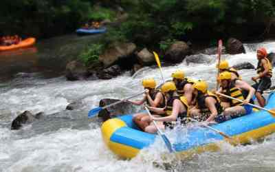 Rafting as the Best Adventurous Activity in Bali