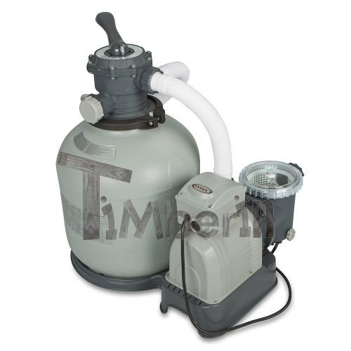 System filtracji piaskiem wody do balii i basenów