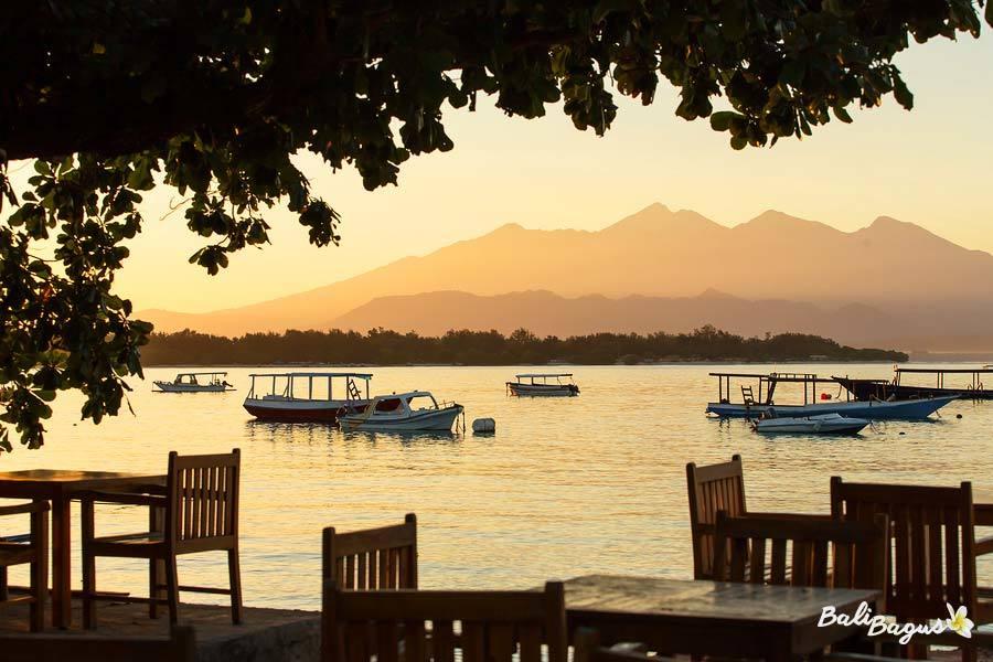 Tramonto su Lombok