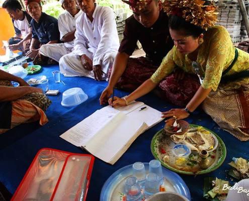 Firma matrimonio Bali