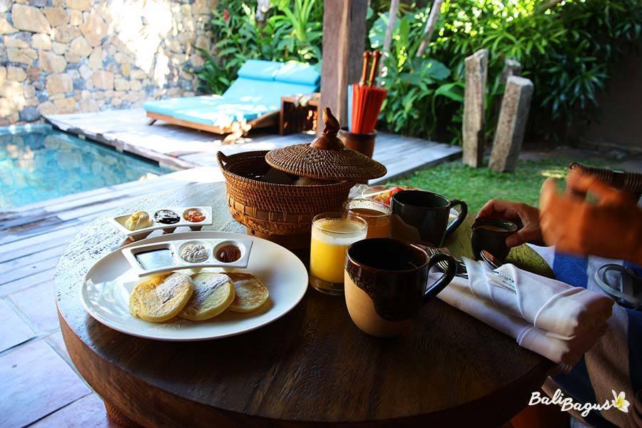Jeeva Klui Senggigi colazione in camera
