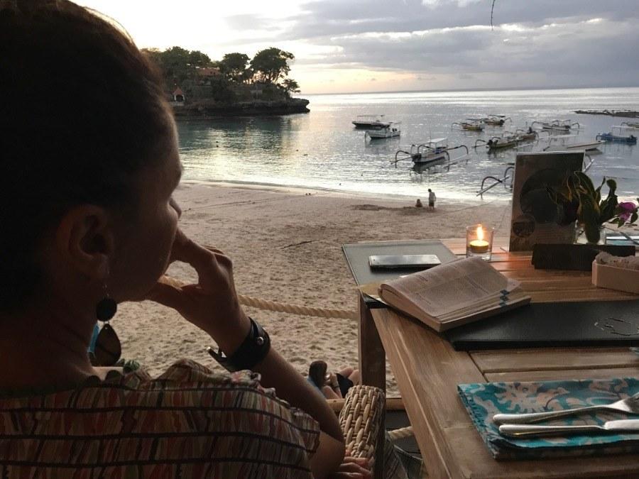 Nusa Lembongan dove mangiare