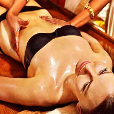 Ayurveda massage is taught traditionally at the Bali International Spa Academy (BISA) using medicated herbal oils chosen according to the patient's Dosha.