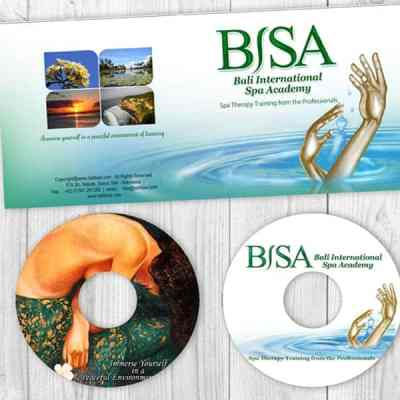 Bali BISA massage and spa training video covers