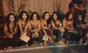 Balinese people when celebrate Nyepi Eve