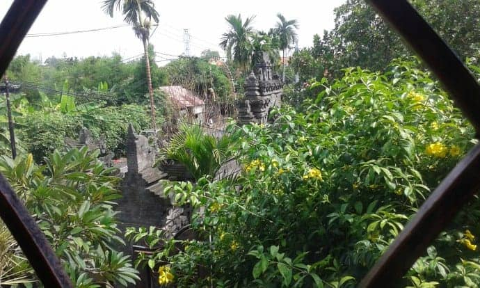 Bali BISA views from a class room