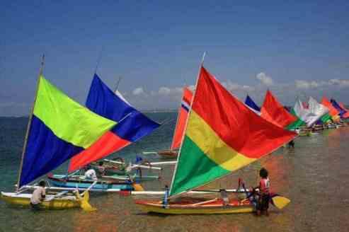 Jukung Race on Sanur Festival