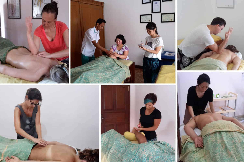BISA Student that study Balinese Massage