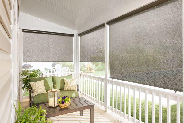 Custom Exterior Solar Shades Bali Blinds