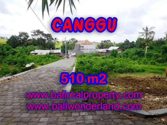 Land for sale in Bali, magnificent view Canggu Bali – TJCG150