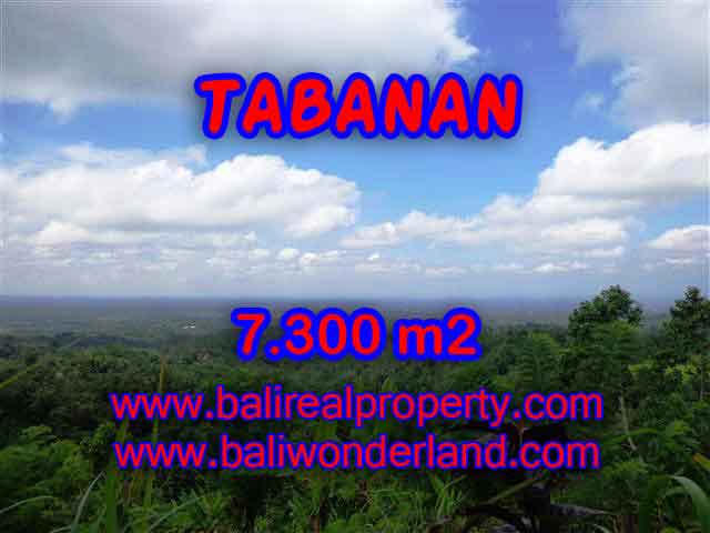 Land in Tabanan Bali for sale, Exotic view in Tabanan Penebel – TJTB123