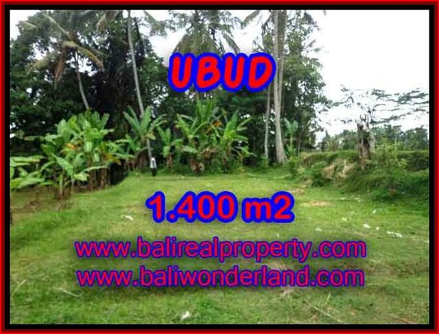 Land in Bali for sale, great view in Ubud Bali – TJUB419